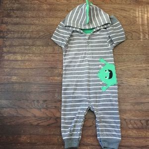 Carter's 6MO Monster Suit